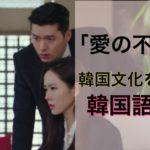 韓国ドラマで勉強!!「愛の不時着」が倍楽しめる韓国語講座