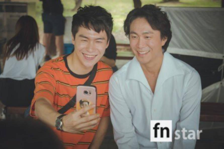 オ・ジョンセとイ・ジェウォン
