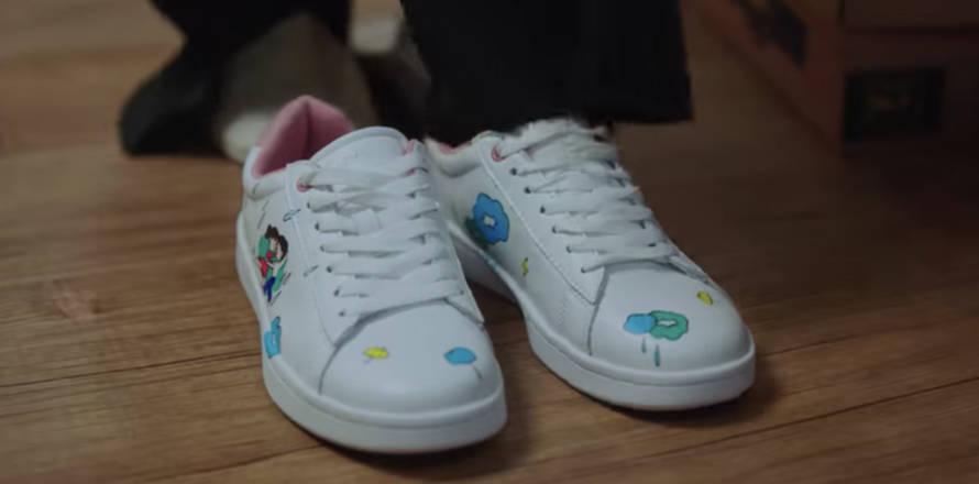 青春の記録 靴